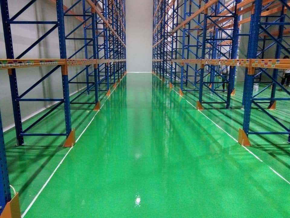 cat epoxy lantai : cara aplikasinya
