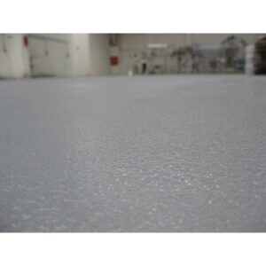 Quartz-filled epoxy floors